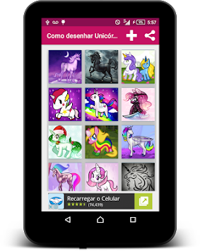 How To Draw Unicorn-Step By Step APK