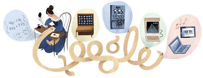 Google Doodle Ada Lovelace 2012