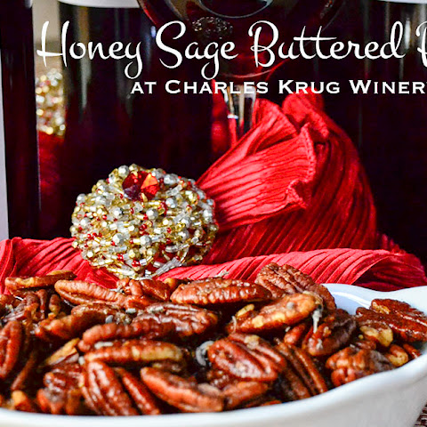 Sage and Honey Buttered Pecans
