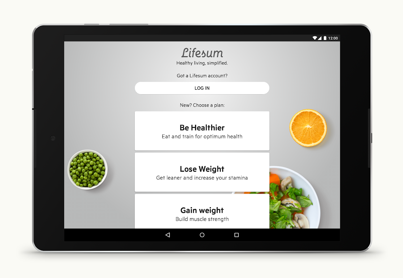 Lifesum: Healthy lifestyle app Screenshot 5
