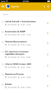 Foro de lenguas - screenshot