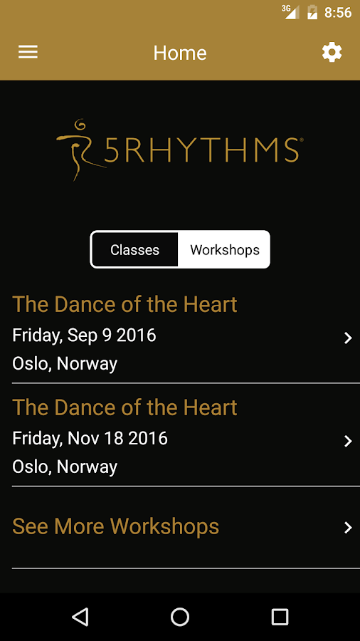 5Rhythms Screenshot 1