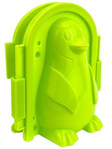 """Форма для лепки снега серии """"Город Игр"""", пингвин M, зеленый"""