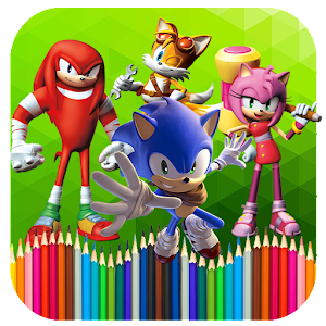 Coloring Sonic For PC