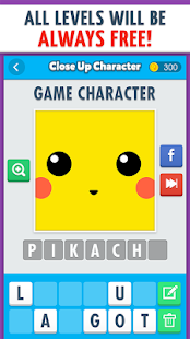 Close Up Character - Pic Quiz!- screenshot