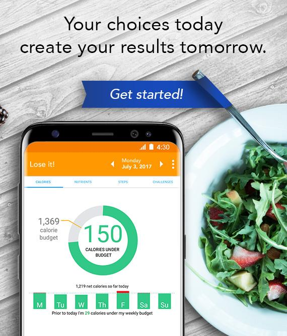 Lose It! - Calorie Counter Screenshot 4