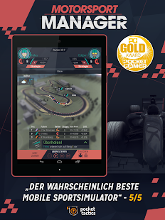 Motorsport Manager Handheld Screenshot