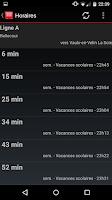 Screenshot of Next Transport