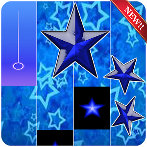 Blue Star Piano Tiles