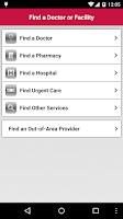Screenshot of Independent Health MyIH