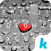 App Heart Droplet Kika Keyboard APK for Kindle