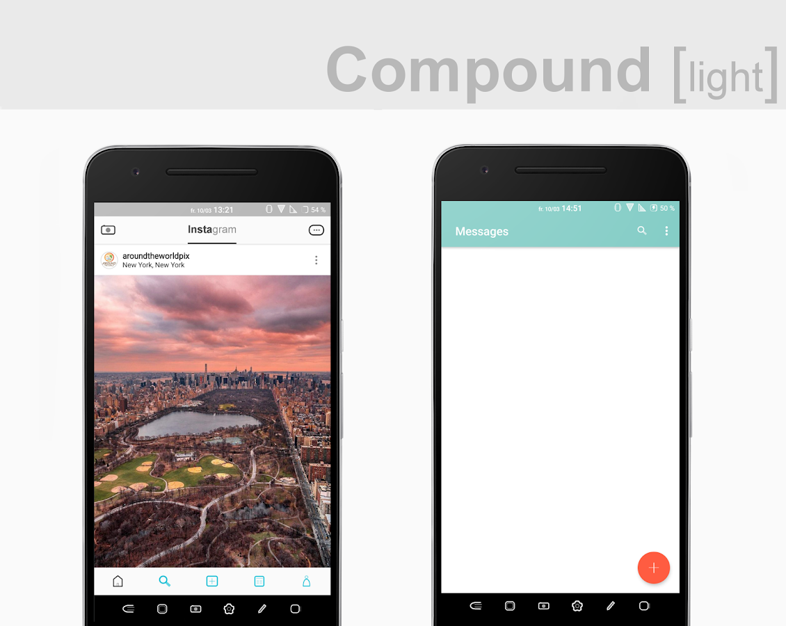 Compound [light] Substratum (Android Oreo/Nougat) Screenshot 7