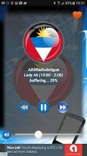 Radio Antigua PRO+ - screenshot