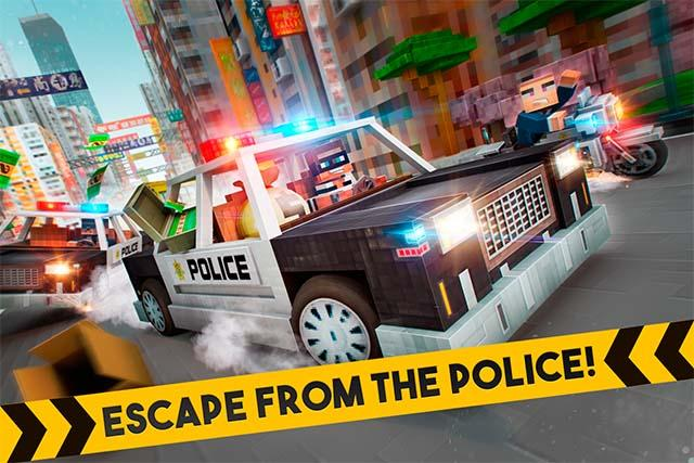 ? Robber Race Escape ? Screenshot 2