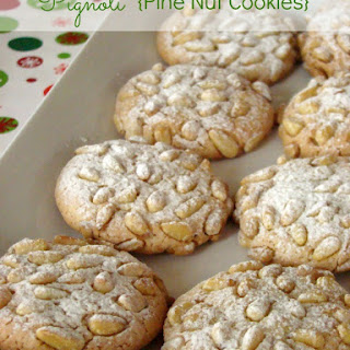Pine Nut Cookies Egg Whites Recipes