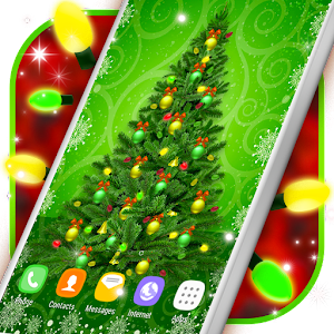 Christmas Tree Lights Live Wallpapers