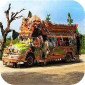 Game Real Peshawari Coach Bus Drive apk for kindle fire