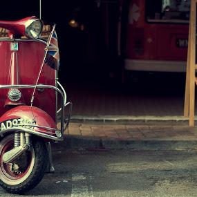 oldScoot by Syam Kiki - Transportation Motorcycles