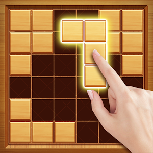 Wood Block Puzzle - Free Classic Block Puzzle Game for pc