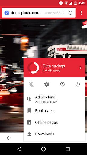 Opera Mini - fast web browser screenshot 2