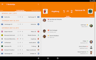 Screenshot of Sporee - Live Soccer Scores