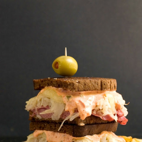The Ultimate Spicy Reuben Sandwich