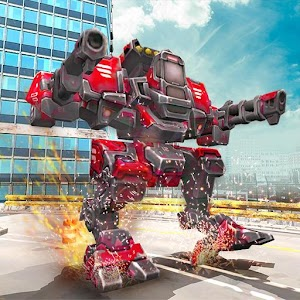Download Mech Robot Transform Game – Endless robot wars For PC Windows and Mac