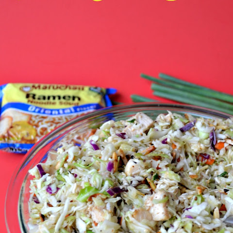 Oriental Chicken Cabbage Salad