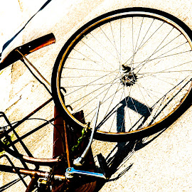 Wrecked Bike by Doug Faraday-Reeves - Artistic Objects Other Objects ( wreck, bicycle, vandalised, abandoned, bike )