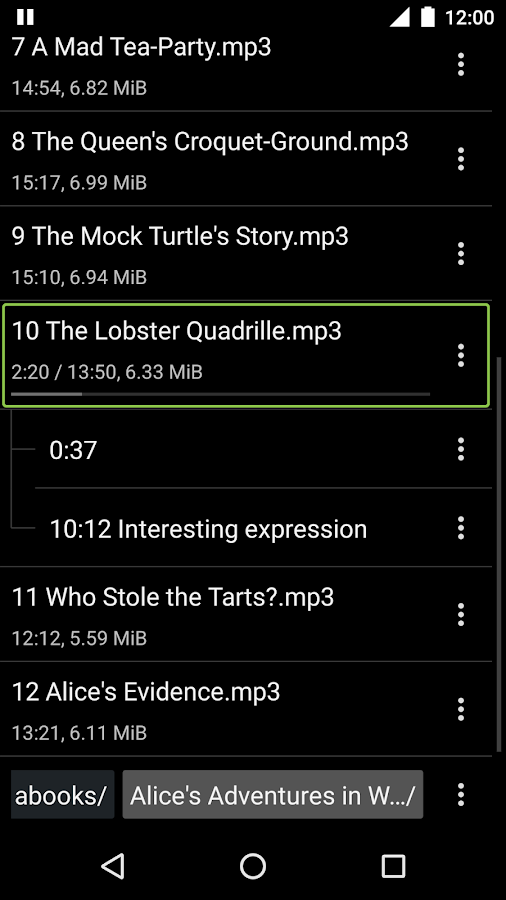 Simple Audiobook Player Screenshot 2
