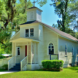 The Country Church by Jarrod Unruh - Buildings & Architecture Places of Worship ( church, buildings, landscape, worship )