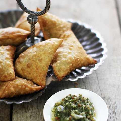 Spiced Corn And Chickpea Samosas Recipes — Dishmaps