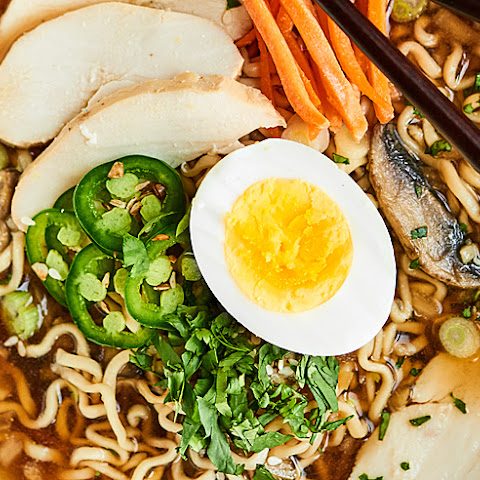 Slow Cooker Ramen Noodles