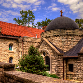 St. Elizabeth by Darin Williams - Buildings & Architecture Places of Worship ( hungary, church, st. elizabeth, eureka springs, arkansas )