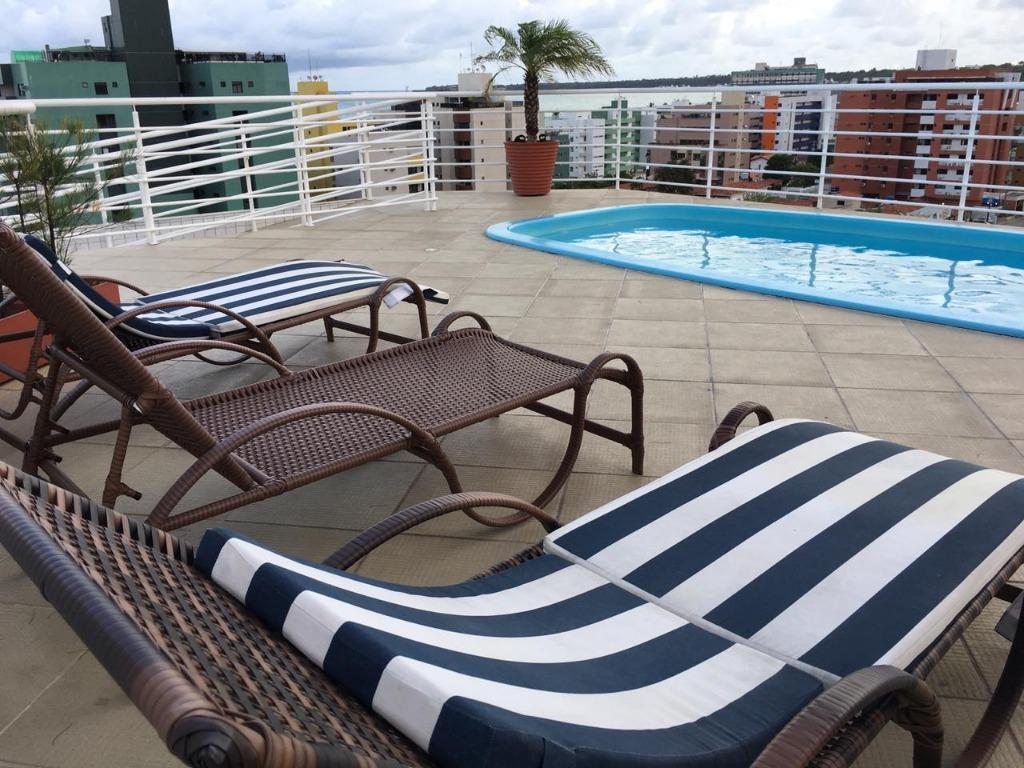 Apartamento com 2 dormitórios à venda, 58 m² por R$ 475.000 - Cabo Branco - João Pessoa/PB