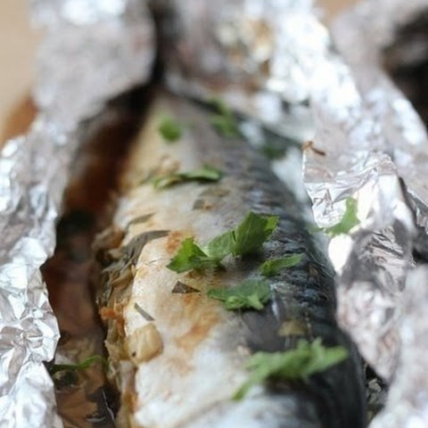 Mackerel Baked In Foil