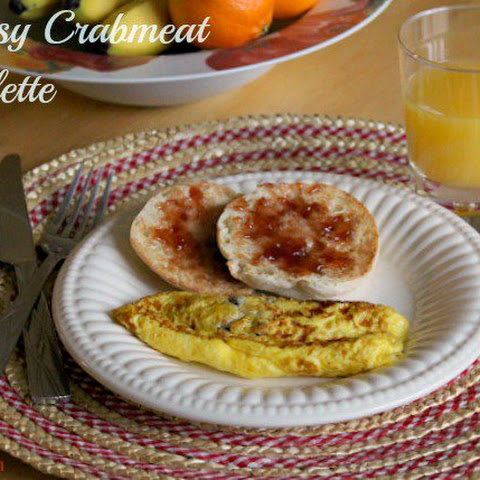 Cheesy Crabmeat Omelette