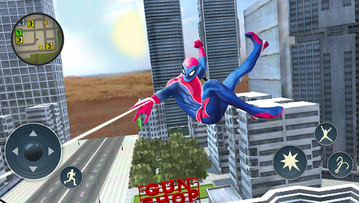 Spider Rope Hero - Gangster Crime City For PC