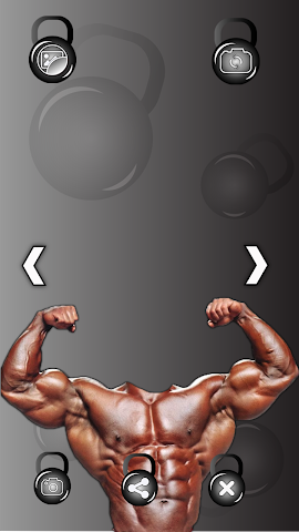 android Bodybuilder Photo Montage Screenshot 2