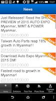 Screenshot of MyanmarFairs