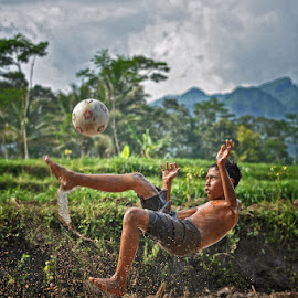 Hit The Ball... by Chusnul Muchlis - Sports & Fitness Soccer/Association football