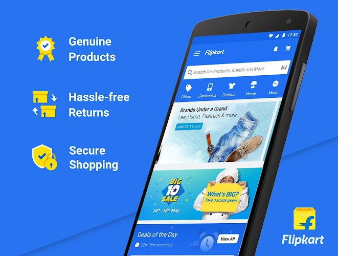 Flipkart Online Shopping App Android App Screenshot