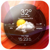 Download Live Weather Widget Free APK on PC