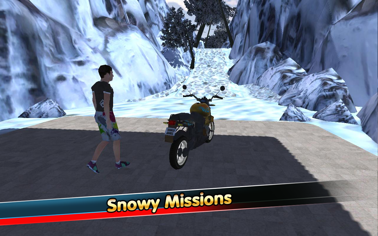 Modern Hill Climber Moto World Screenshot 5