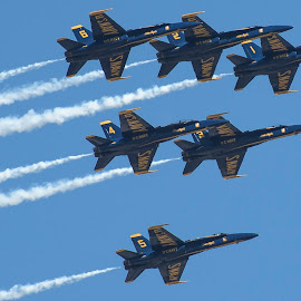 Blue Angels 2015 by Pete Lambertz - Novices Only Objects & Still Life ( air force, us, planes, fighter jets, blue angels )