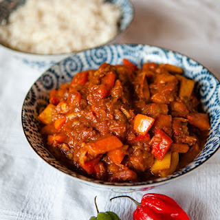 Vegan Sweet Pepper Curry