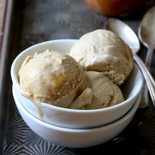 Coffee Caramel Swirl Ice Cream
