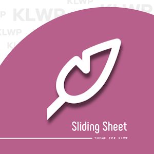 Sliding Sheet for KLWP For PC / Windows 7/8/10 / Mac – Free Download