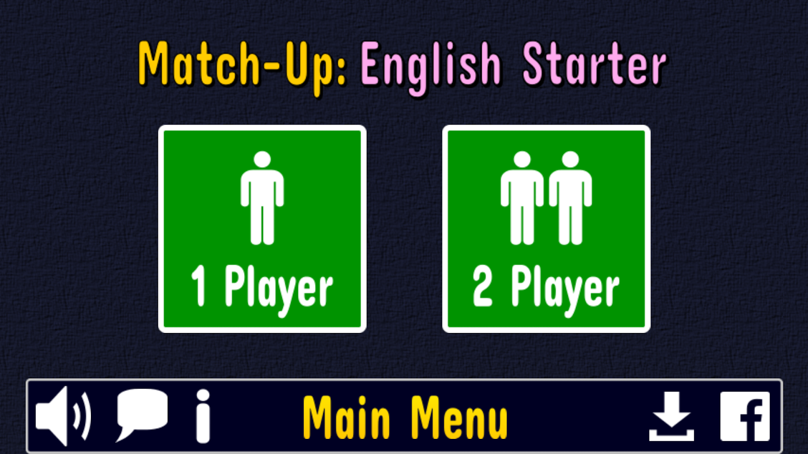 Match Up English Words -No Ads Screenshot 4
