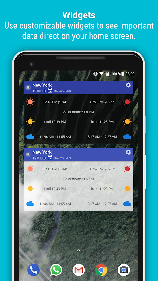 Blue Hour (Solar Calculator) Screenshot 4